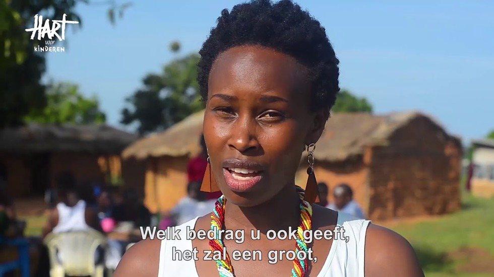 Barbara vertelt over matrassenactie Oeganda
