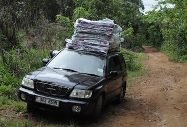 Een tweedehands Jeep voor het Moeder en Kindcentrum