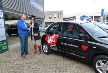 Autobedrijf Pels en Stichting Hart voor Kinderen vinden elkaar