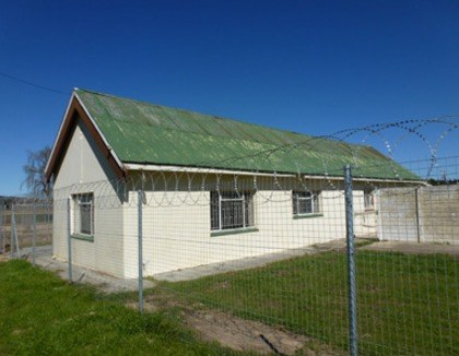 Veilig huis voor kinderen in Villiersdorp, Zuid-Afrika