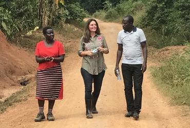 Aankoop grond Oeganda
