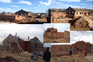 Humansdorp: bouwproject al voor een groot deel gerealiseerd!