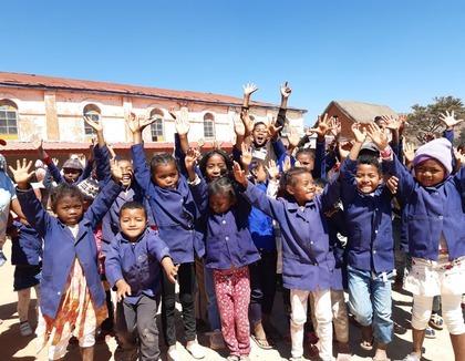 Schoolkinderen Madagaskar