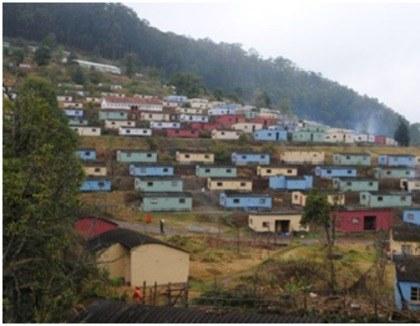 Huisjes in Swaziland
