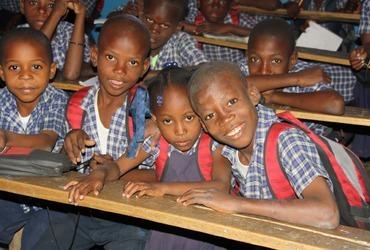 Schoolactie Haïti 2019