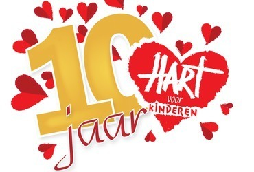 Hart voor Kinderen bestaat 10 jaar!