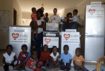 Witgoed voor kinderdorp Rehoboth in Port Shepstone