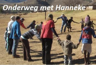 Hanneke in Lesotho met OM